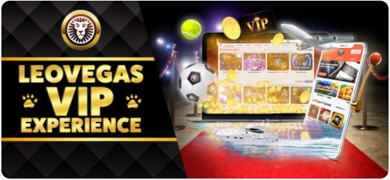 LeoVegas experiência VIP