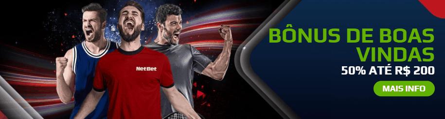 Netbet Bônus de Boas Vindas de Esportes
