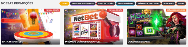 Netbet promoções regularmente