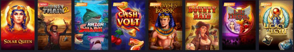 slot com o tema do Antigo Egito