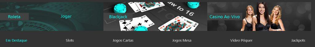 Jogos de cassino da Bet365