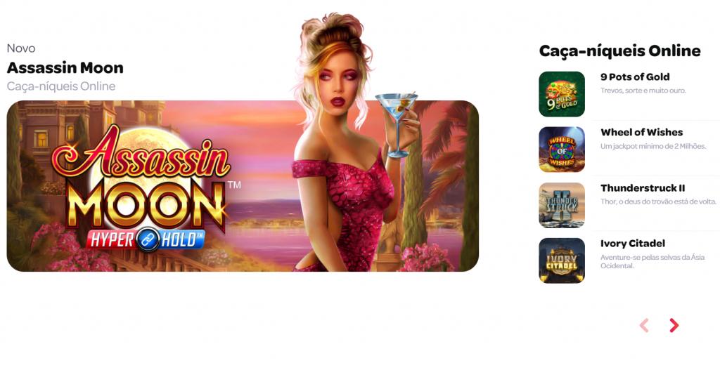 Jogos de cassino da Spin Casino